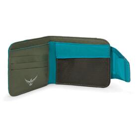 Osprey QuickLock - Porte-monnaie - gris/turquoise